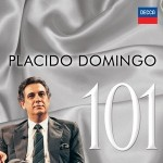 """La copertina di """"101 Domingo"""" in cui rientrano registrazioni di opere dirette dal Maestro Romano Gandolfi"""