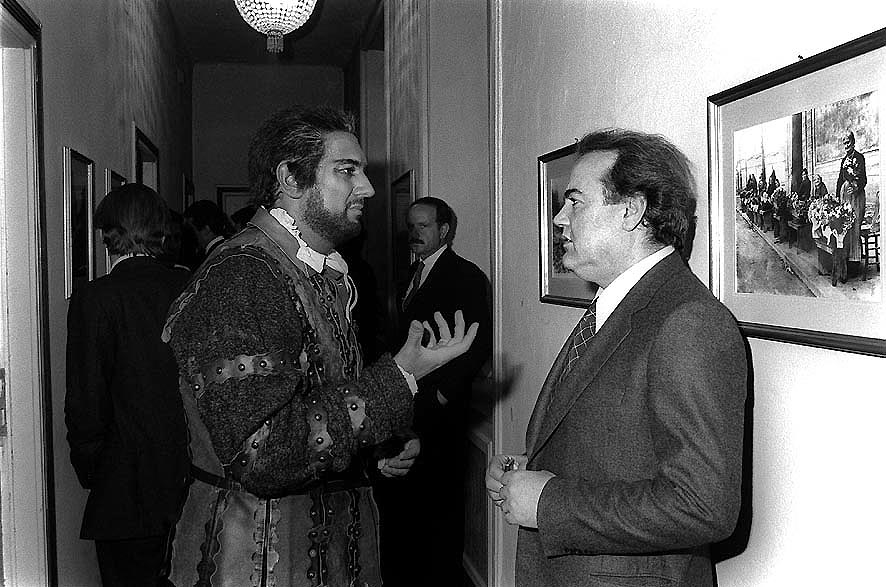 Gandolfi e Placido Domingo per Otello