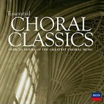 """Il disco """"Essentials Choral Classics"""" in cui figurano registrazioni del Maestro Romano Gandolfi"""