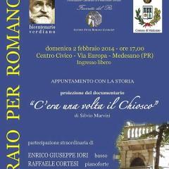 Febbraio 2014. Viva Verdi: sito, documentario e il basso Iori