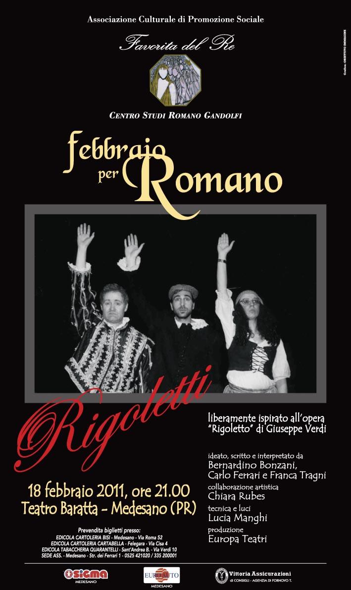 """Febbraio 2011: """"Rigoletti"""""""