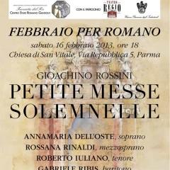 """Febbraio 2013: """"Petite Messe Solemnelle"""""""