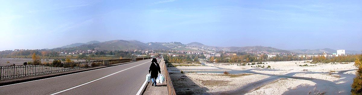 Un panorama in località Ramiola