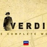 """Il disco """"Verdi - The Complete Works"""" in cui figurano registrazioni del Maestro Romano Gandolfi"""