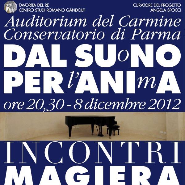 """Leone Magiera in concerto """"Dal Suono per l'Anima"""""""