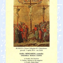 Vivaldi e Chelleri nel concerto di Pasqua a Busseto con Sara Mingardo