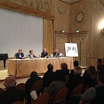 da sinistra: Giuseppe Martini, Carla Casanova , Andrea Rinaldi, Piero Mioli