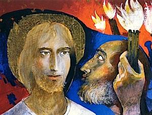 Viaggio nell'arte sacra di Arcabas, domenica a Medesano