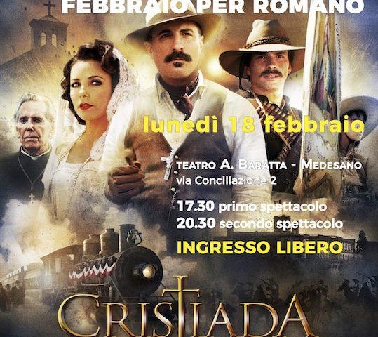 Febbraio per Romano: la proiezione del film Cristiada