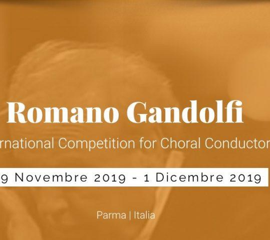 """Ecco il primo Concorso Internazionale Direttori di Coro """"Romano Gandolfi"""""""