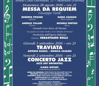 Messa di Requiem a Villa Gandolfi